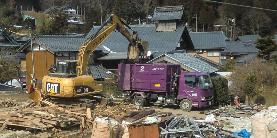 解体部門の写真